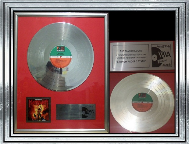Award Kings of Metal Platinum
