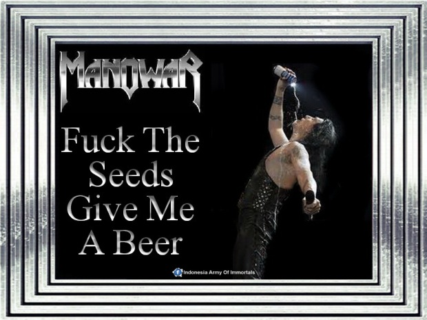 Wallpaper Fuck The Seeds Give Me A Beer