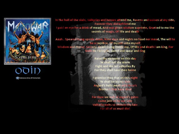 Wallpaper Gods Of War - Odin