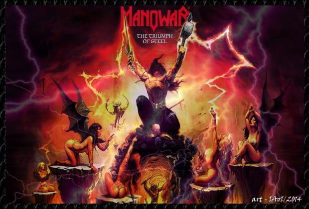 Indo ManOwaR - The Triumph Of Steel